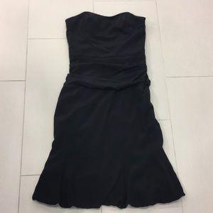 Nicole Miller Dresses Black Strapless Black Cocktail Dress Poshmark